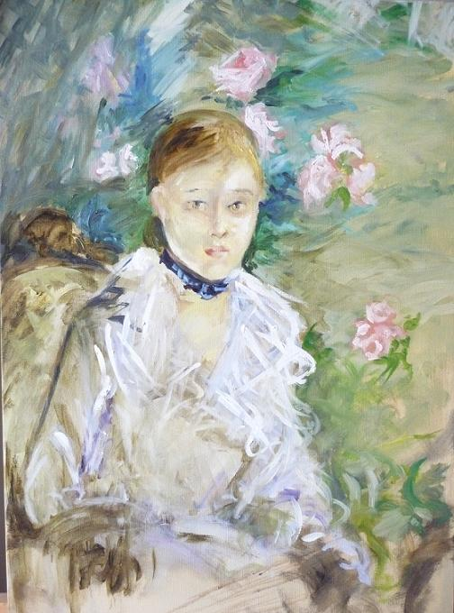 copie Anne-Sophie Bonno - Berthe Morisot - the summer