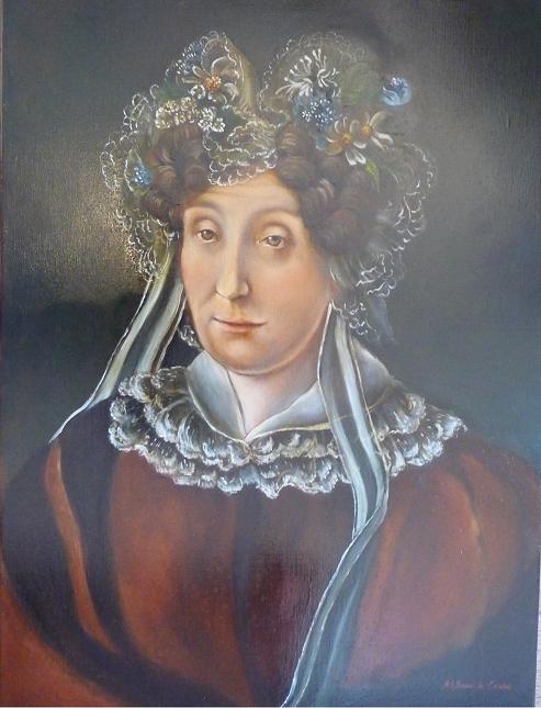 portrait canvas paintings