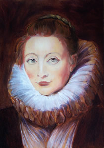 Rubens - Portrait of Clara Serena or of Infante Isabelle's maid