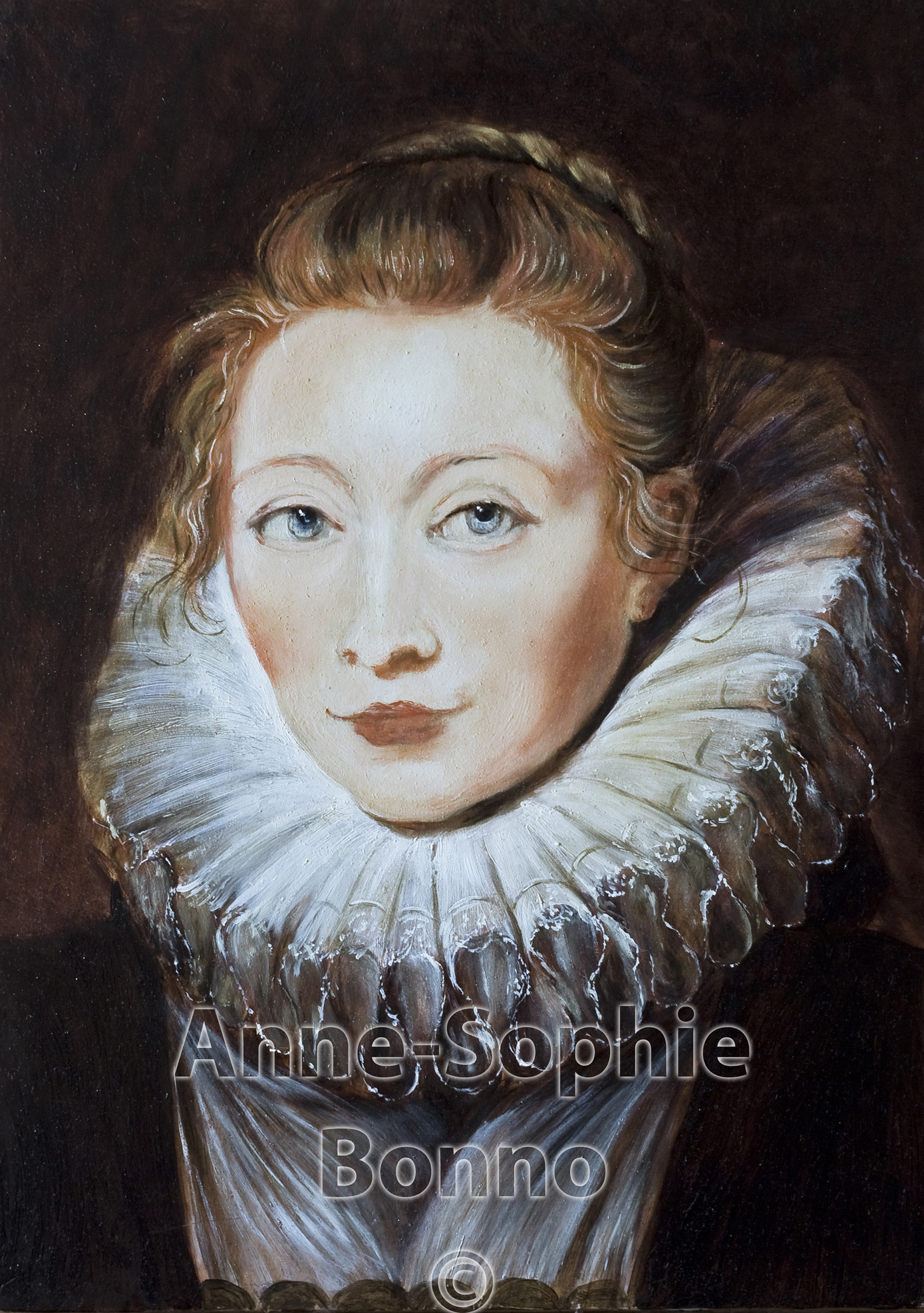 Anne-Sophie Bonno Atelier - Painter and Copyst - On-going works